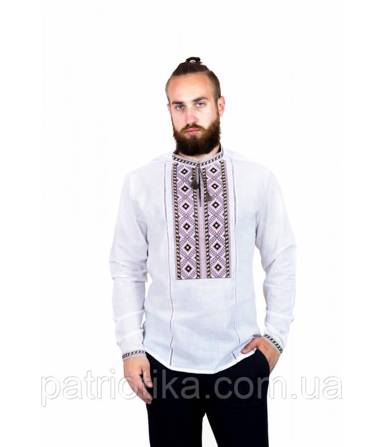 Рубашка вышитая мужская М-423-4 | Сорочка вишита чоловіча М-423-4