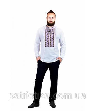 Рубашка вышитая мужская М-423-4 | Сорочка вишита чоловіча М-423-4, фото 2