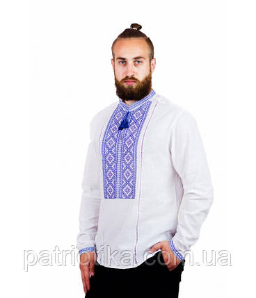 Рубашка вышитая мужская М-423-3 | Сорочка вишита чоловіча М-423-3, фото 2