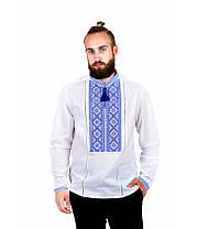 Рубашка вышитая мужская М-423-3 | Сорочка вишита чоловіча М-423-3, фото 3