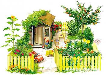 Дача-сад-огород