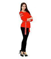 Рубашка вышитая женская М-218 | Сорочка вишита жіноча М-218, фото 3