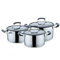 Набор посуды с силиконовыми ручками Maestro MR 3513-6 6 предметов