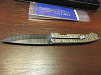 Нож Nra Stone River Ceramic керамика, ручка из титана