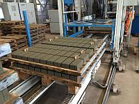 Станок для производства вибропрессованной тротуарной плитки