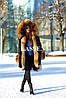 Парка с мехом финского енота, фото 3