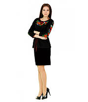 Рубашка вышитая женская М-224 | Сорочка вишита жіноча М-224, фото 3