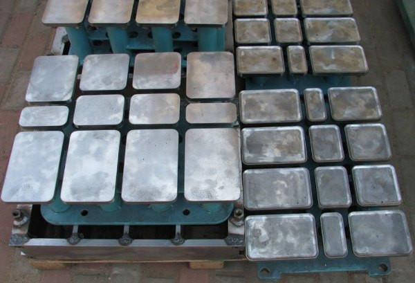 Производство плиток литьем