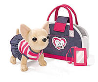 Собачка в сумочке Кикки M 3218 Джинсовый Стиль (аналог Chi Chi Love)***