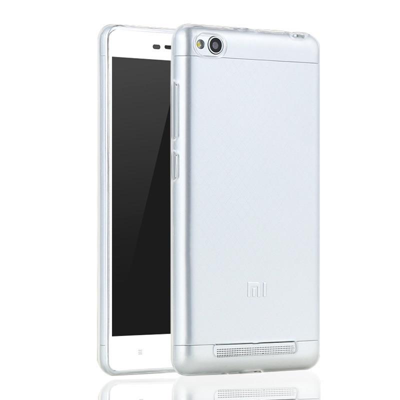 Чехол бампер для Xiaomi Redmi 4A силиконовый прозрачный