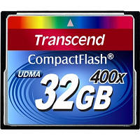 Карта памяти Transcend CompactFlash 32Gb Premium 90MB/s 400x