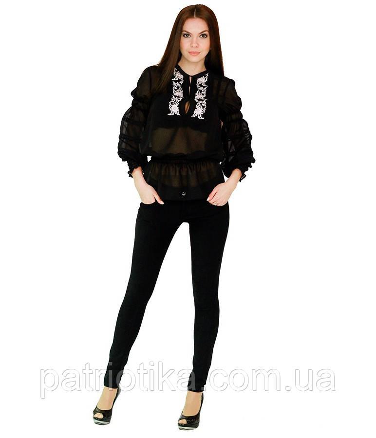 Рубашка вышитая женская М-310-3 | Сорочка вишита жіноча М-310-3