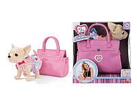 Собачка в сумочке Кикки M 3219 Розовая Фантазия (аналог Chi Chi Love)***