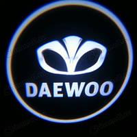 Лампа-подсветка в дверь с логотипом авто