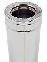 Труба из нерж.стали с теплоизоляцией в нержавеющем кожухе d180/250