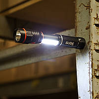Тактический фонарь Nebo Slyde с магнитным основанием, фото 1