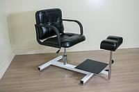 Педикюрное кресло Mebel Studio ПК 4 черное (00206)