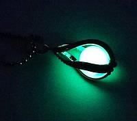 Фантастически кулон, подвеска светится в темноте зеленым, фото 1