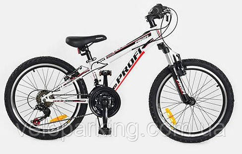 Спортивный горный велосипед Profi Kid 20 steel