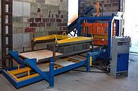 Станок производства тротуарной плитки вибропрессованием