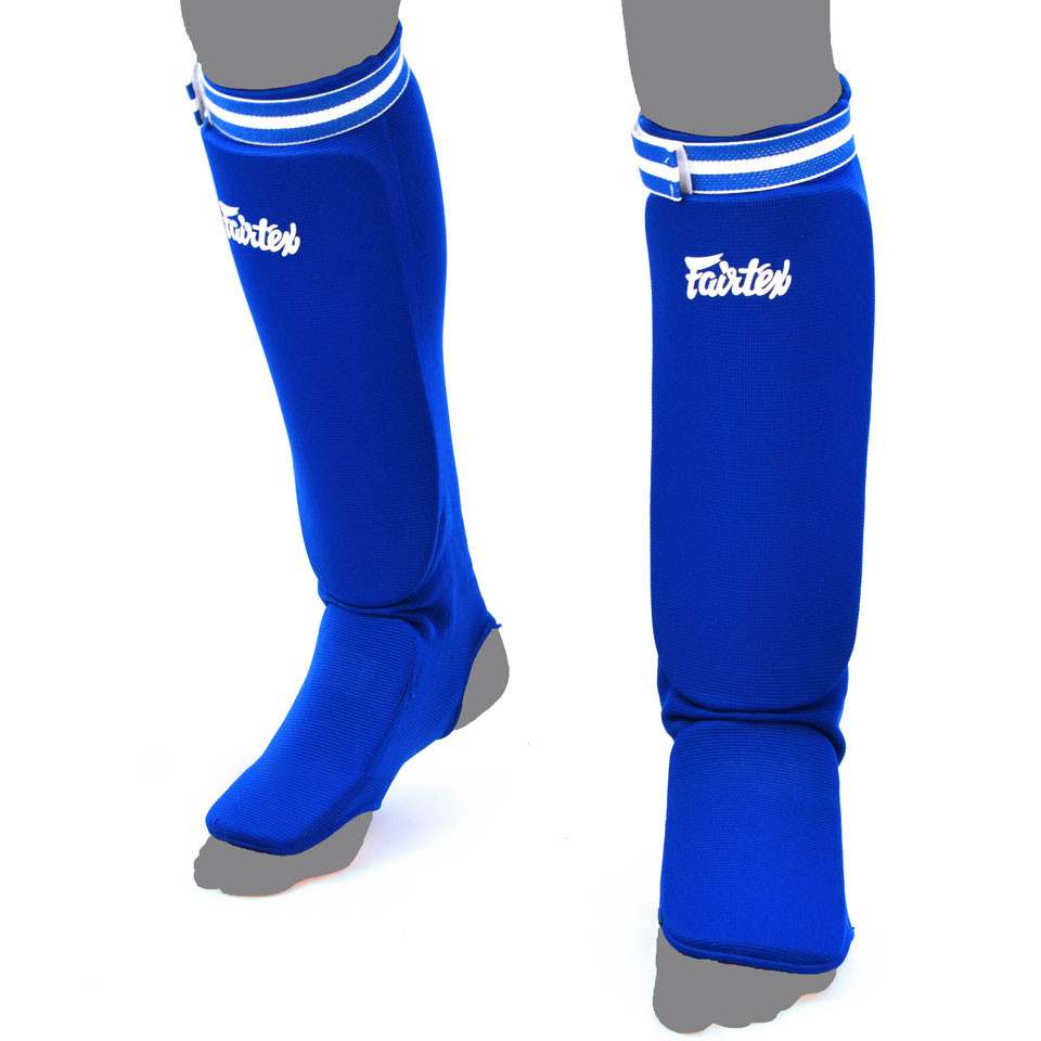 Защита голени Fairtex SPE1 blue
