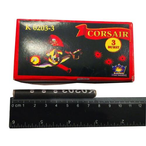 Петарда Корсар 3 (3 взрыва) K0203-3 (10 шт)