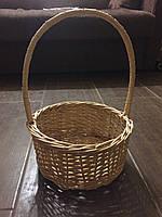 Подарочная корзина из екологической лозы, фото 1