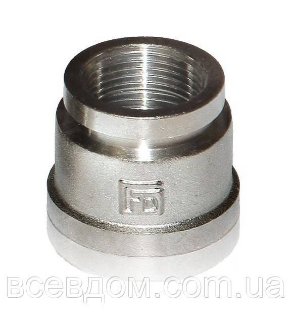 Муфта редукционная FADO M15 НИКЕЛЬ 1''х1''1/4''