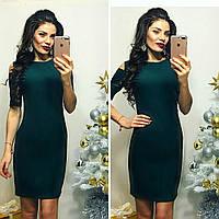 Платье женское, модель 766, зеленый