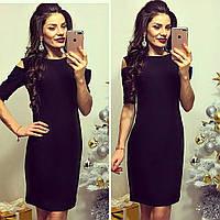 Платье женское, модель 766, черный