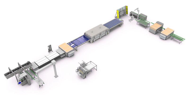 Оборудование для производства плитки из пластика