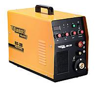 Сварочный полуавтомат 2в1 KAISER  MIG-300