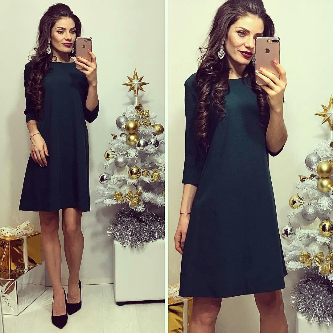 Платье женское, модель 769, зеленый