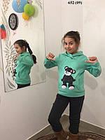 Детский спортивный теплый костюм 652 (09)