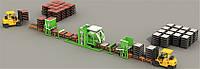 Автоматизированная линия по производству тротуарной плитки