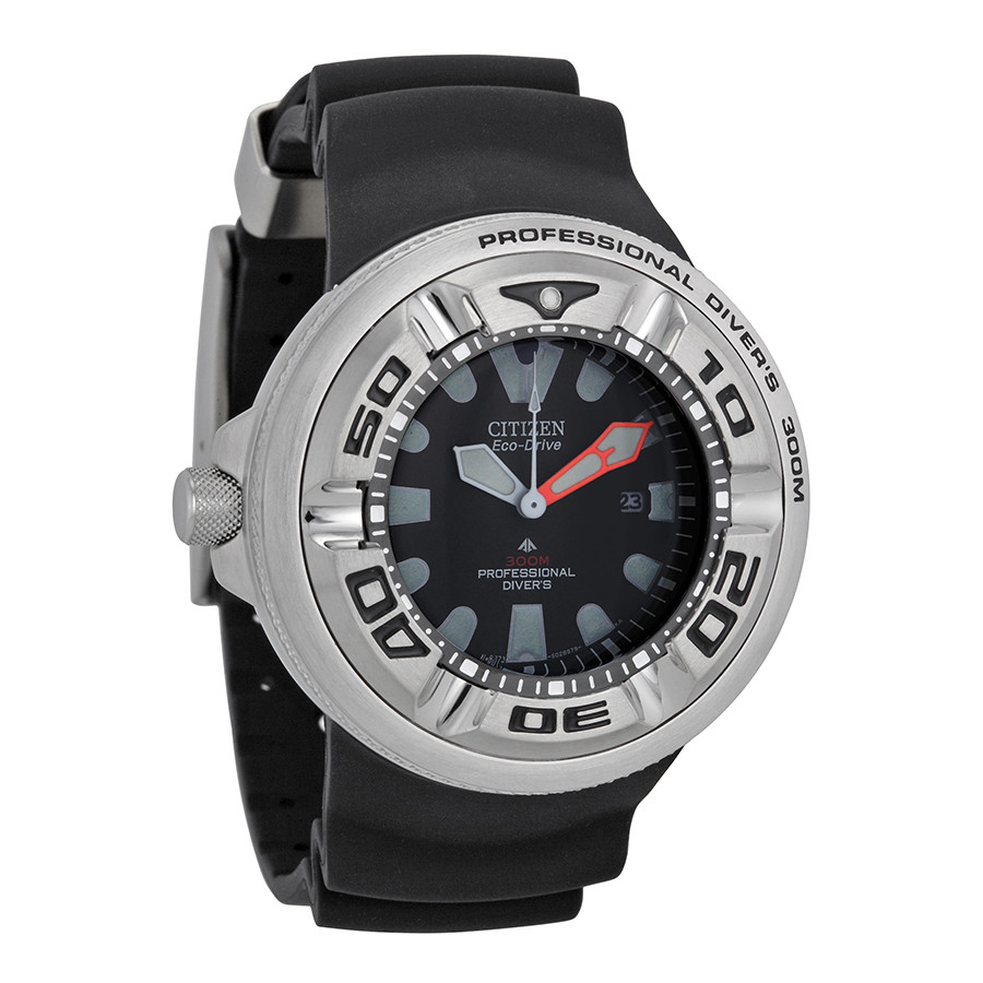 Часы Citizen Eco-Drive Ecozilla BJ8050-08E Diver's 300m