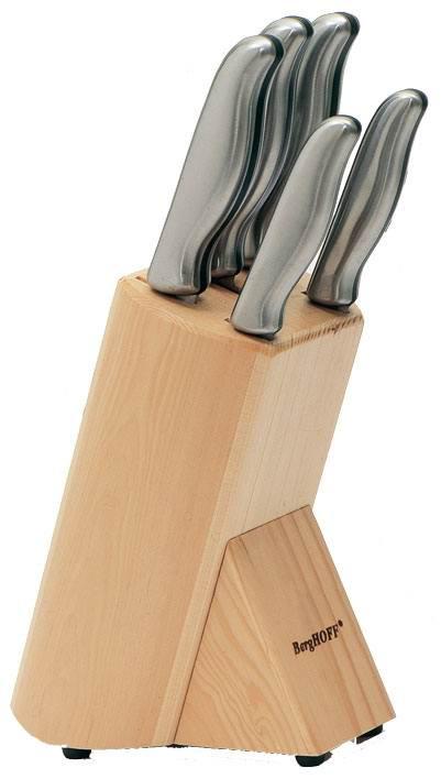 Набор ножей из 6 предметов BergHOFF Hollow 1306001