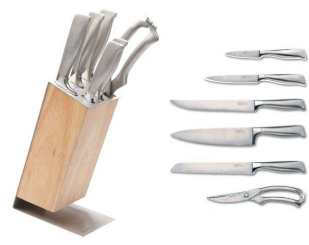 Набор ножей из 7 предметов BergHOFF Nuance 1307152