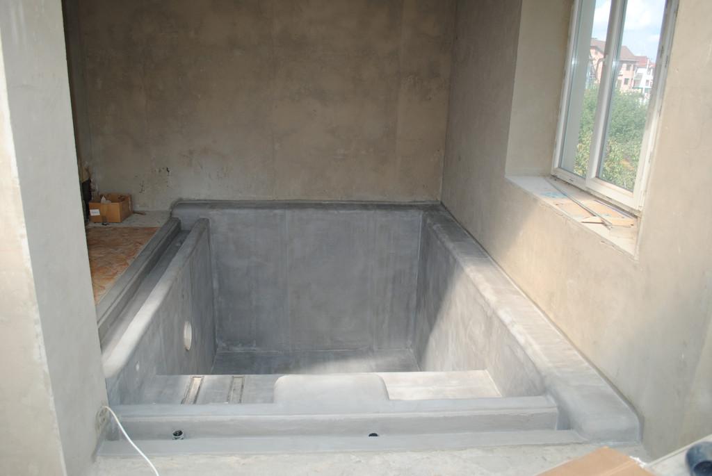 Строительство переливного бассейна (отделочные работы, установка оборудования) 7