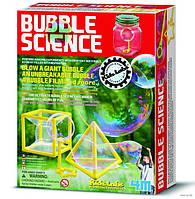 Детская лаборатория 4М. Опыты с мыльными пузырями
