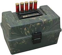 Коробка MTM Shotshell Case на 100 патронов калибр 12/76 камуфляж