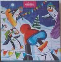 """Шоколадные конфеты + пазлы Pomorzanka """"Пингвины"""", 120 г"""