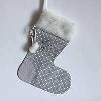 Новогодний носок для подарков #1