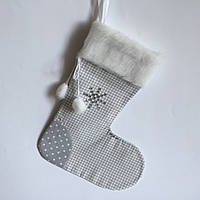 Новогодний носок для подарков #3