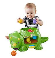 Развивающая музыкальная игрушка Fisher Price Динозавр