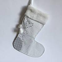 Новогодний носок для подарков #5
