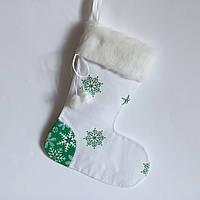 Новогодний носок для подарков #8
