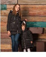 Эксклюзивный набор мама и дочка куртки