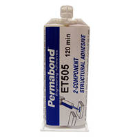 Permabond ET505 (Эпоксидная смола, двухкомпонентная, клей, янтарный, аналог Loxeal)