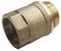 Клапан обратный латунный для байпасов 40 мм